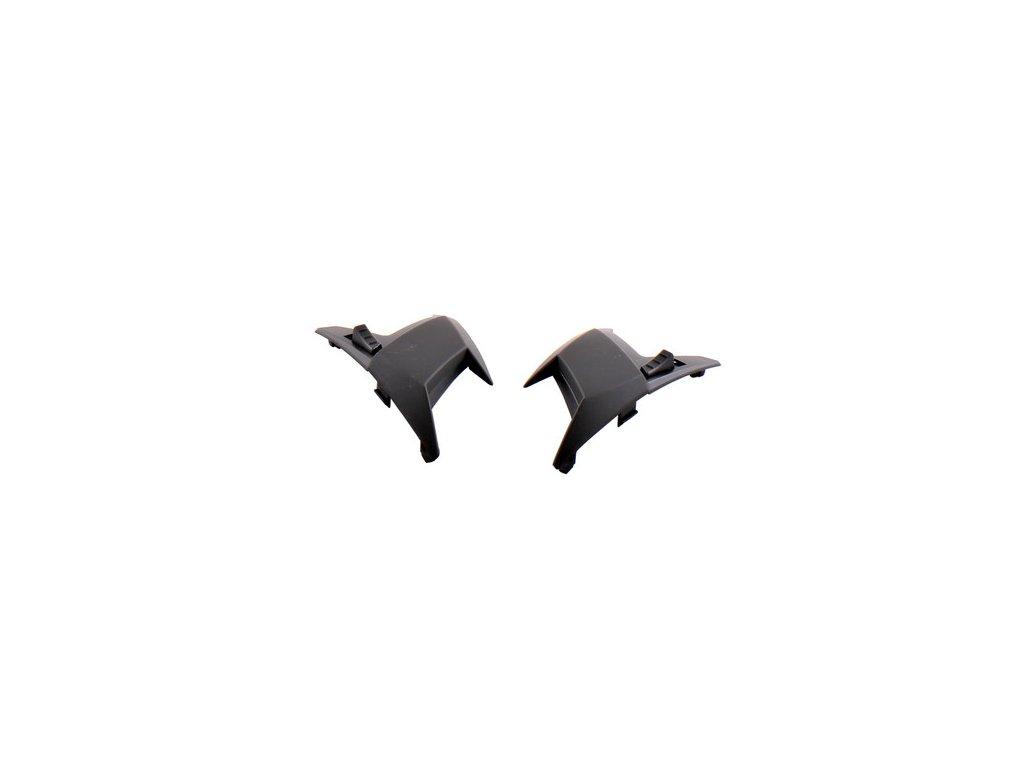 Větráčky horní (sada) černá matná pro SPEEDS Evolution III