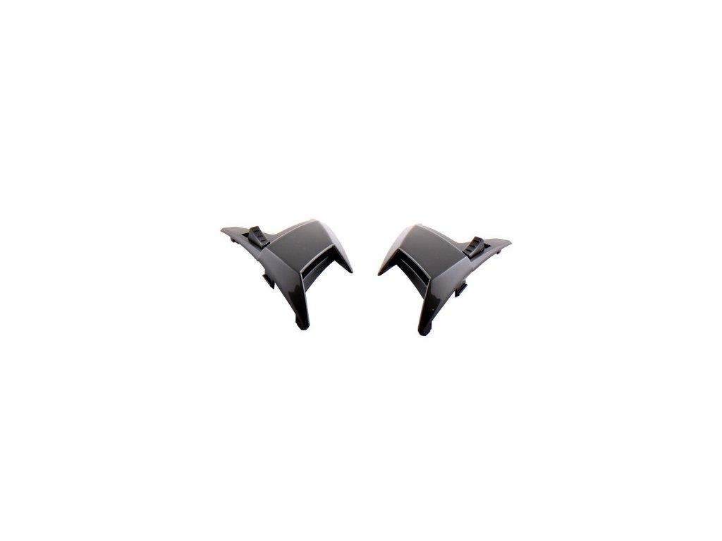 Větráčky horní (sada) černá lesklá pro SPEEDS Evolution III