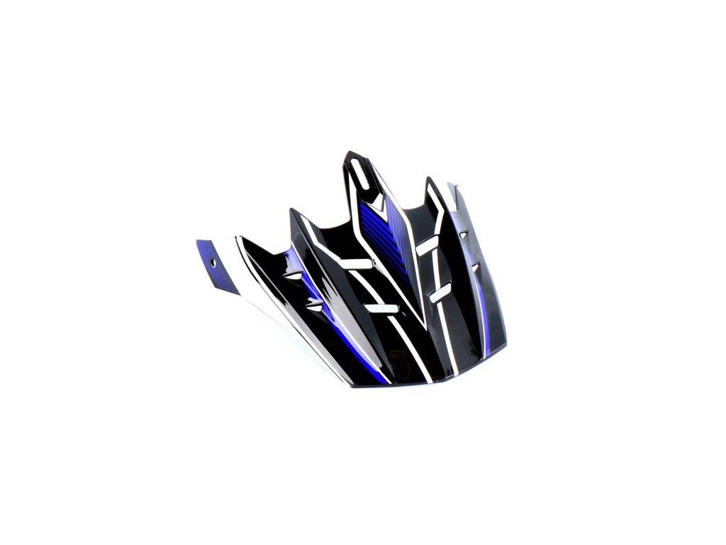 Sluneční clona černo / modro / bílá pro SPEEDS Cross III