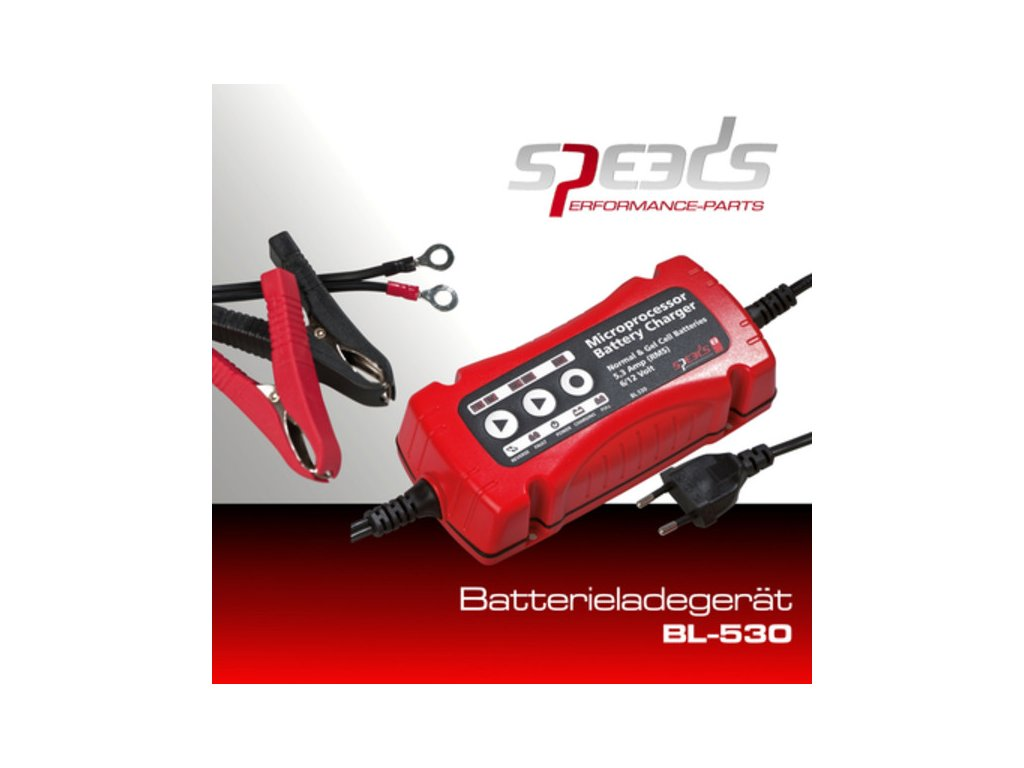 SPEEDS nabíječka baterií 12/6 V; BL530