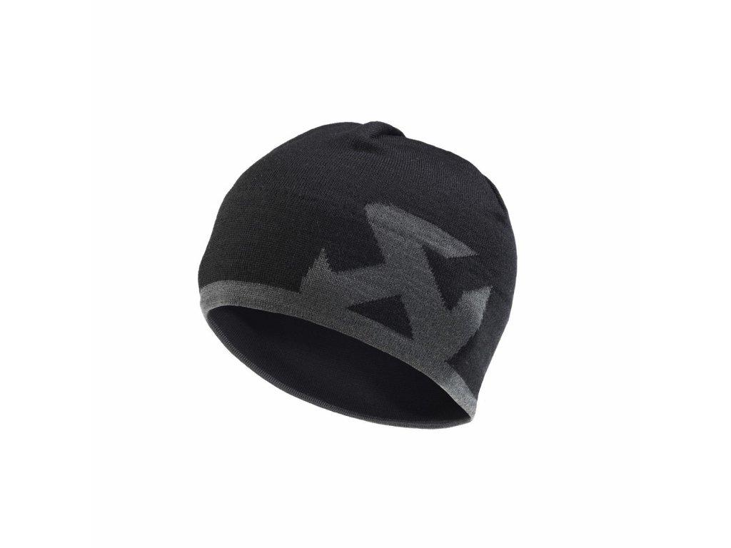 Čepice Akrapovič - černo/šedá