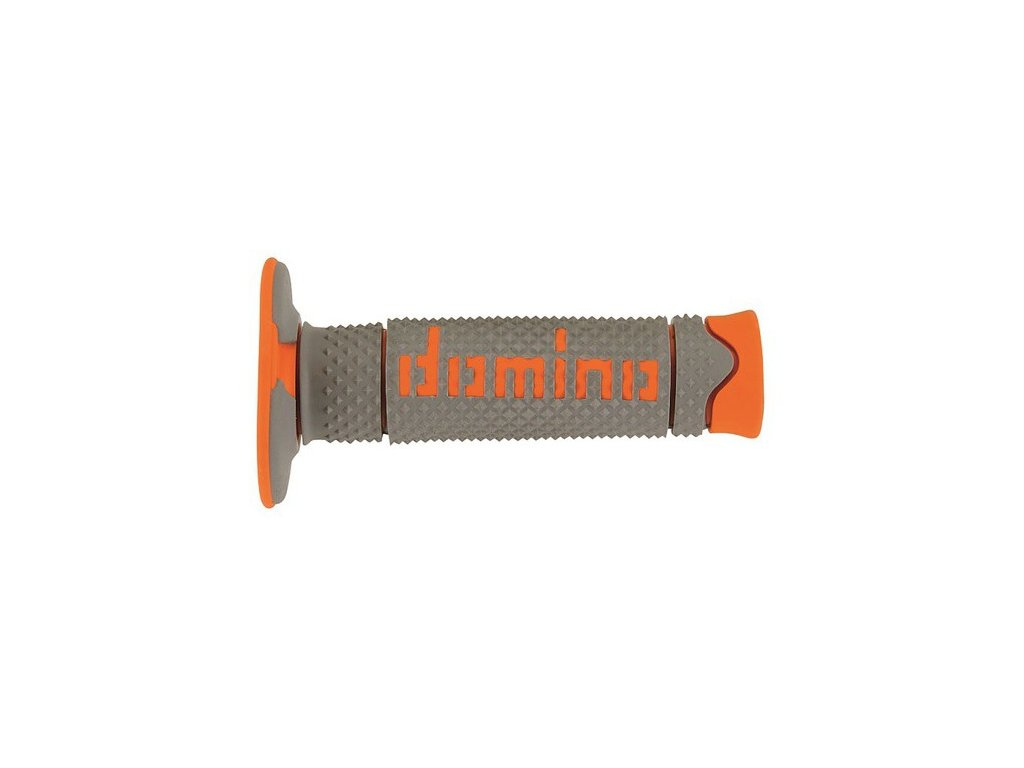 gripy A260 (offroad) délka 120 mm, DOMINO (šedo-oranžové)