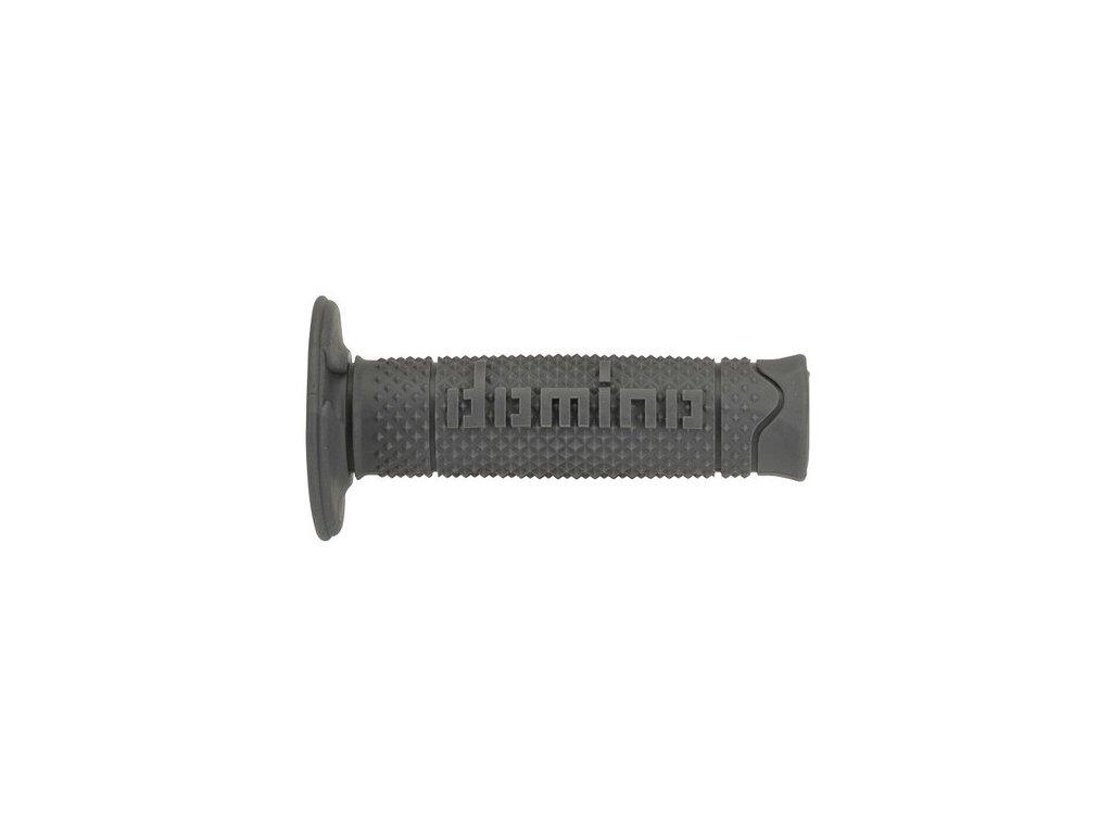 gripy A260 (offroad) délka 120 mm, DOMINO (šedé)