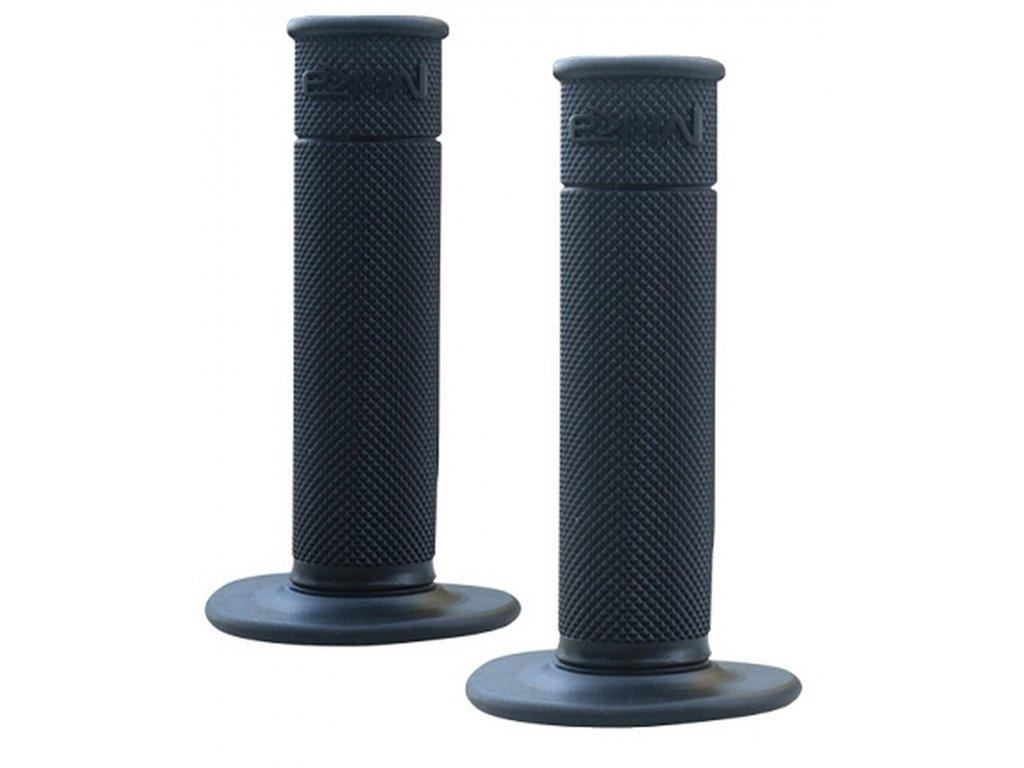 """gripy motokrosové """"50/50 WAFFLE GRIPS"""" (soft), MIKA (černá)"""