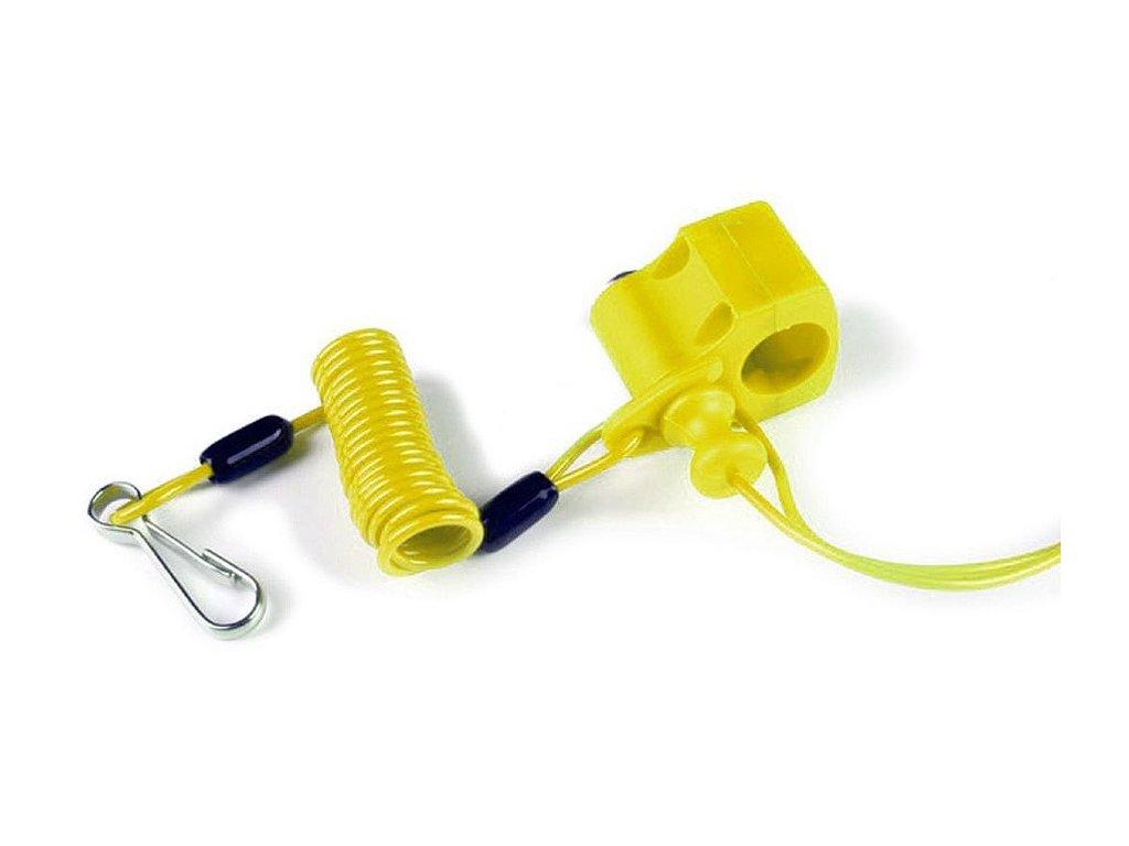 trhačka pro přerušení chodu motoru, VICMA (žlutá)