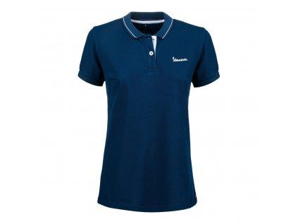 Polo tričko dámské VESPA - GRAPHIC v tmavě modré