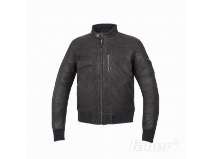 Kožená bunda TucanoUrbano - BRED černá