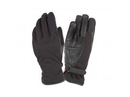 Dámské rukavice TucanoUrbano - GINKA v černé barvě