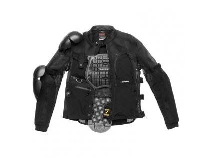 spidi multitech armor evo jacket black 750x750