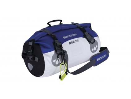 vodotěsný vak Aqua RB-50 Roll Bag, OXFORD (bílý/modrý, objem 50 l)