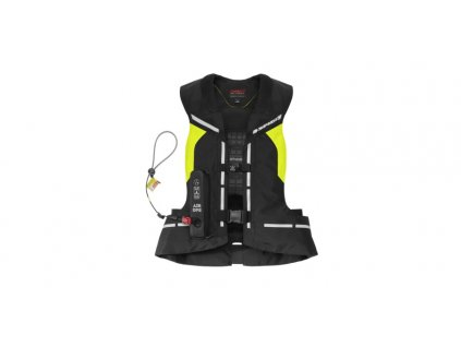 vesta s airbagem AIR DPS CE celotělová, SPIDI (černá/žlutá fluo)