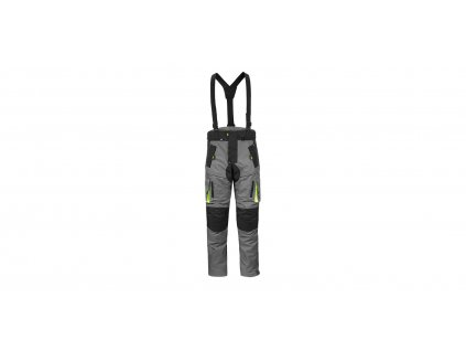 enduro kalhoty DISCOVERY, 4SQUARE - pánské (šedo-žluté)
