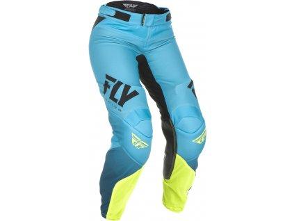 kalhoty LITE 2019, FLY RACING dámské (modrá/žlutá fluo)