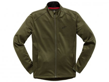 mikina PURPOSE MID LAYER FLEECE, ALPINESTARS (zelená)