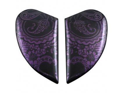 Airform™ SIDE PLATES - Chantilly Opal fialová