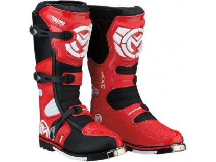 Moose Racing - M1.3™ boty - červené