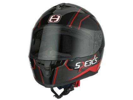 SPEEDS RACE II Grafik černá/titan/červená