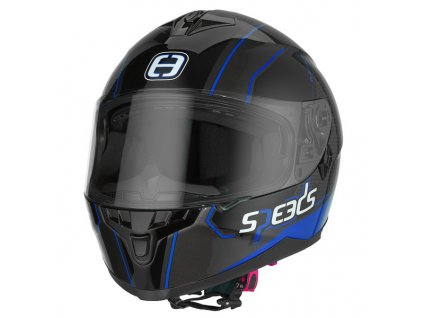 SPEEDS RACE II Grafik černá/titan/modrá
