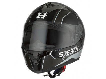 SPEEDS RACE II Grafik černá/titan/stříbrná