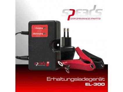 SPEEDS udržovací nabíječka baterií 12 V, EL300