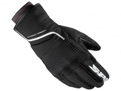 rukavice BREEZE LADY H2OUT, SPIDI (černé/bílé)