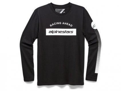 triko ARC BAR, ALPINESTARS (černá)