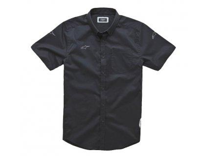 košile AERO krátký rukáv, ALPINESTARS (černá)