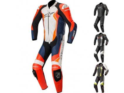 lrgscale16418 Alpinestars GP Force CE Leather Motorcycle Suit 918 0