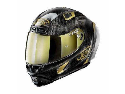 moto helma x lite x 803 rs ultra carbon gold edition carbon 33
