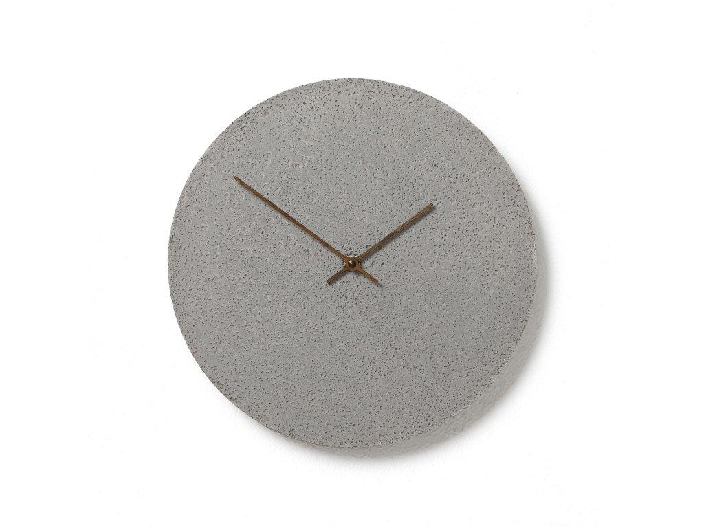 CL300102 Šedé hodiny z betonu