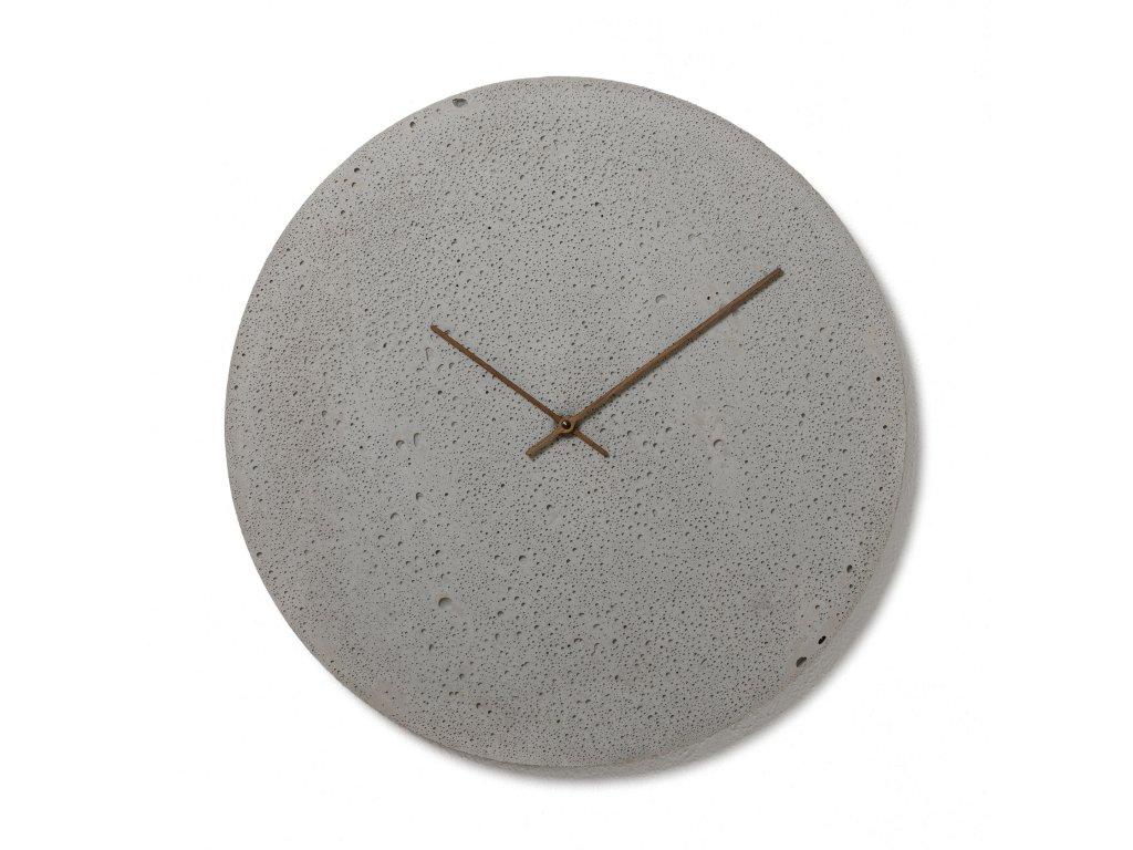 CL500102 Šedé nástěnné hodiny