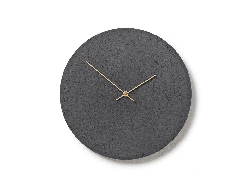 CL300201 Břidlicové hodiny z betonu