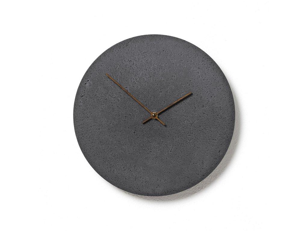 CL300202 Břidlicové hodiny z betonu