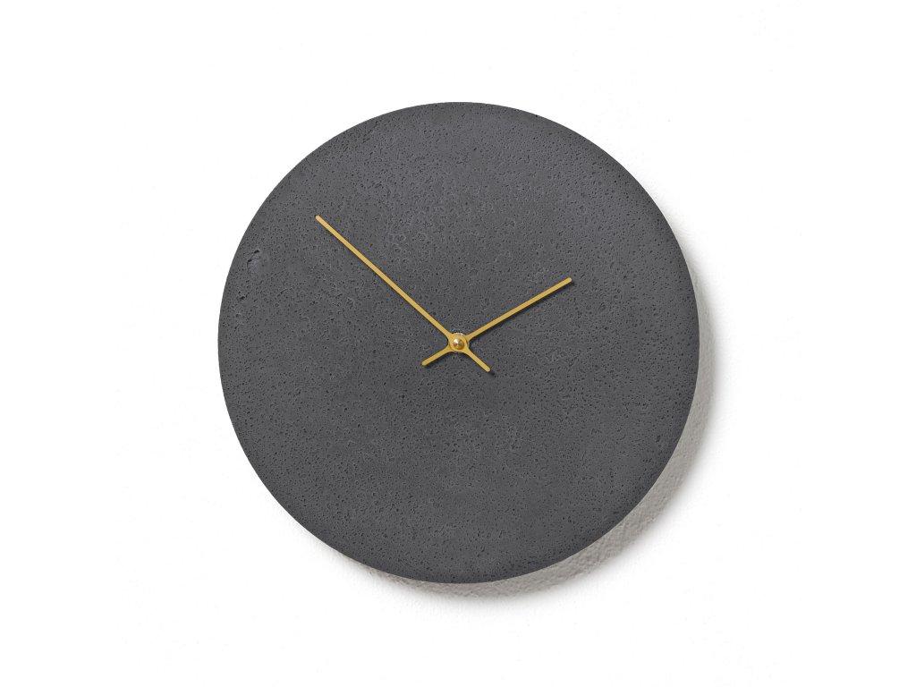 CL300206 Břidlicové hodiny z betonu