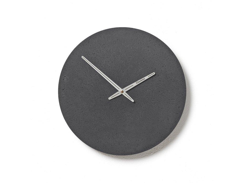 CL300208 Břidlicové hodiny z betonu
