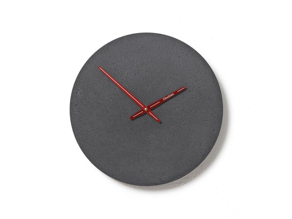 CL300210 Břidlicové hodiny z betonu