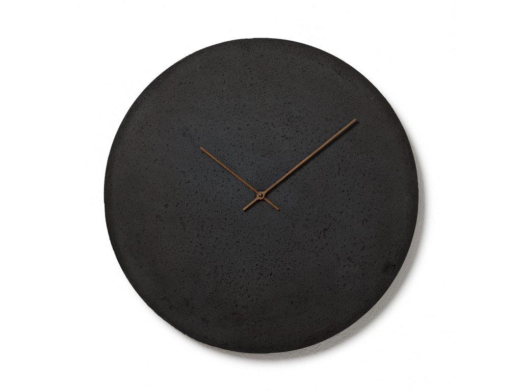CL500302 Antracitové nástěnné hodiny