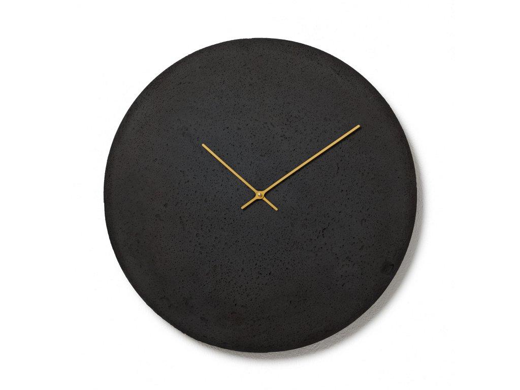 CL500306 Antracitové nástěnné hodiny