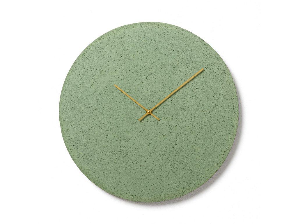 CL500706 Zelené nástěnné hodiny