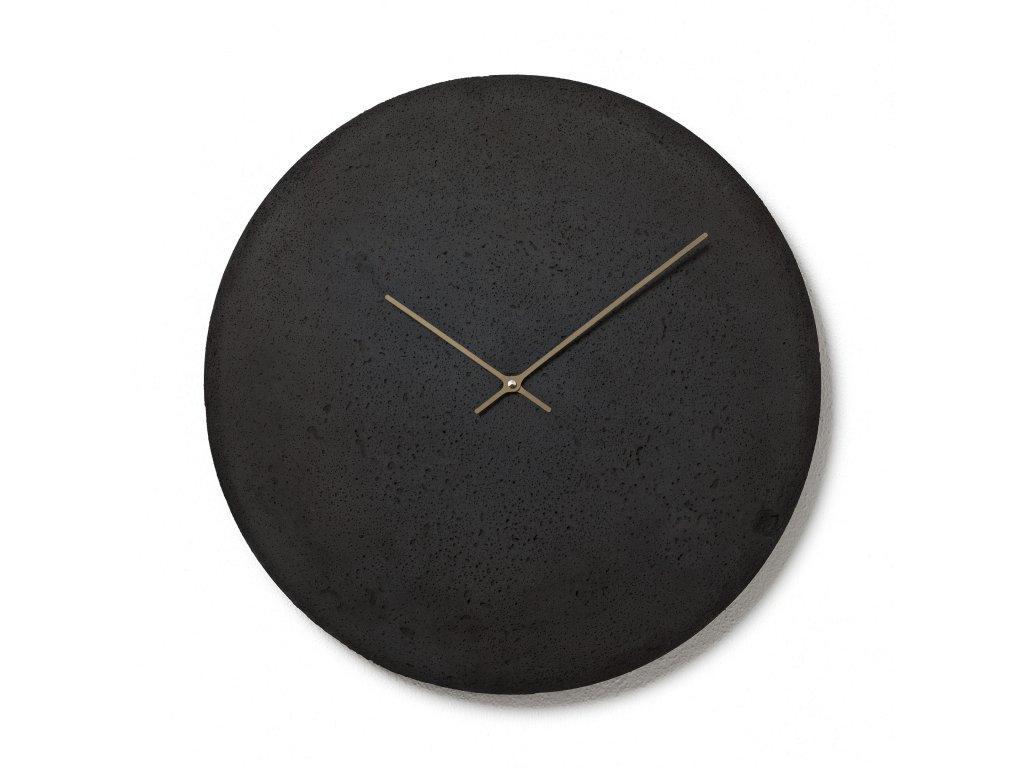 CL500307 Antracitové nástěnné hodiny