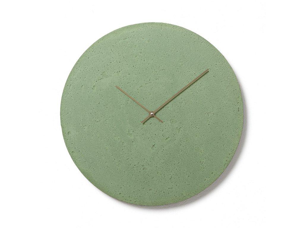 CL500707 Zelené nástěnné hodiny