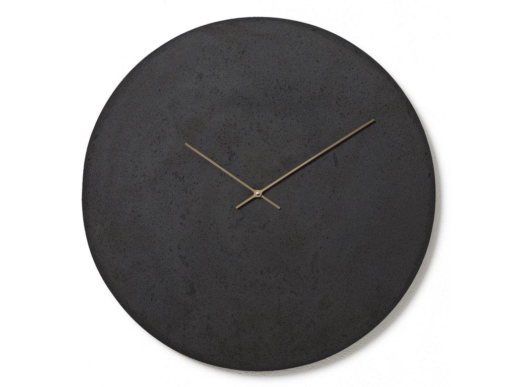 CL700307 Antracitové nástěnné hodiny