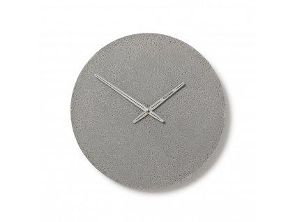 CL300108 Šedé hodiny z betonu