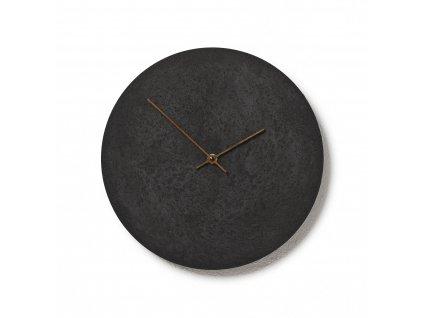 CL300302 Černé hodiny z betonu