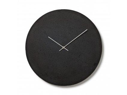 CL500305 Antracitové nástěnné hodiny