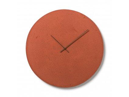 CL500602 Červené nástěnné hodiny