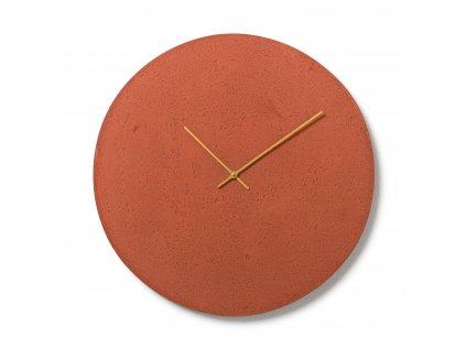 CL500606 Červené nástěnné hodiny