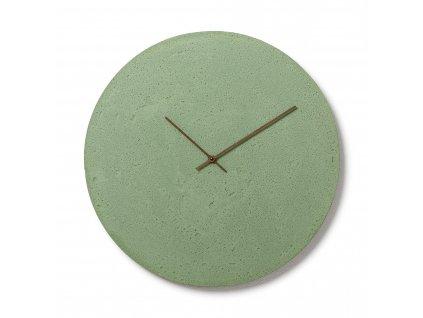 CL500702 Zelené nástěnné hodiny