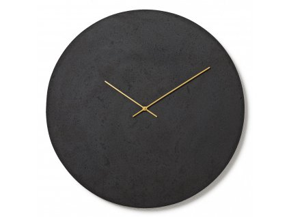 CL700306 Antracitové nástěnné hodiny