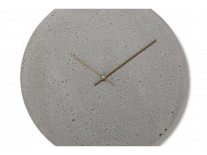 CL500107 Šedé nástěnné hodiny
